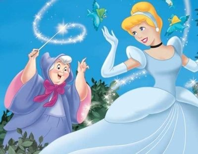 Cinderella and Fairy-Godmother